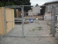 Chainlink fence panels 10x6