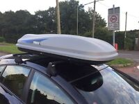 Thule evolution 100 roof box with key opens both sides