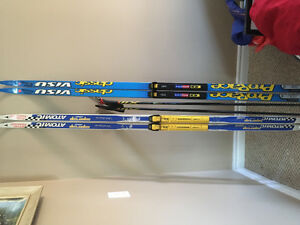 Cross country ski equipment - Selling as a lot