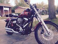 Harley Davidson Dyna WideGlide 2011