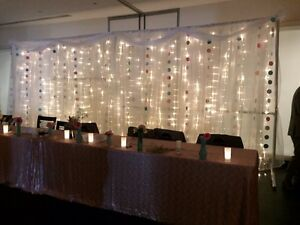 Wedding/event backdrop
