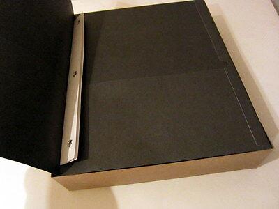 Oxford Twin Pocket Portfolio With Fastener - 25 In Box - Black 57706