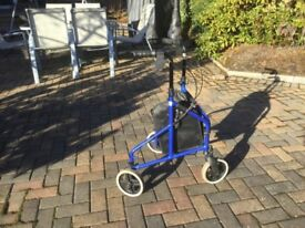 3 wheeled mobility walker For Sale.