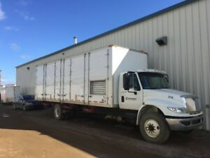 2012 INTERNATIONAL 4300 SANDBLAST TRUCK W/ SULLAIR 950