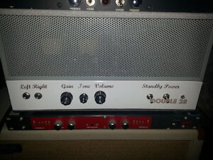 NEW PICTURES AS PER REQUEST Tube Stereo Guitar Amp Head