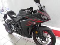 YAMAHA YZF-R3 ABS 320cc A2 CATEGORY SUPERSPORTS BIKE. 0 MILES FOR 18 REG...