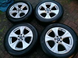 Genuine Mercedes ALLOY WHEELS AND TYRES 5X112