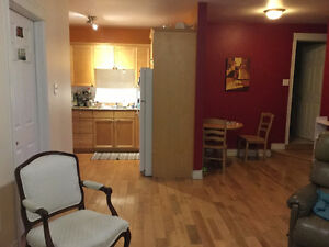 3-bdrm flat in central North End avail Aug. 1st
