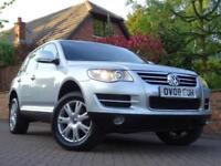 2008 08 Volkswagen Touareg 2.5TDI DPF auto SE..HIGH SPEC..STUNNING !!