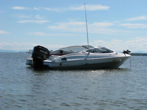 bateau a vendre 20 pieds open deck