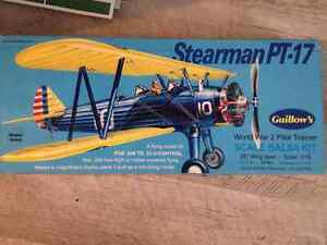 Stearman PT-17 scale balsa kit-NEW PRICE Kitchener / Waterloo Kitchener Area image 1