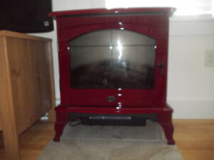 Electric Wood Stove $250