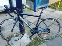 road bike / bicycle (carrera zelos ltd14)