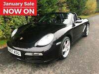 2007 PORSCHE BOXSTER 2.7 ROADSTER MANUAL SPORTS CONVERTIBLE 987