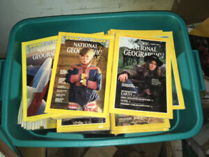 Mint condition National Geographic magazines. 1930's and up