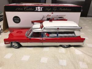 Cadillac 1966 ambulance precision 100 diecast 1/18 die cast