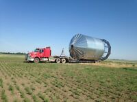 Farm equiment hauling and towing,grain bin moving