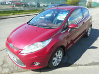 FORD FIESTA ZETEC 3 DOOR MANUAL PETROL