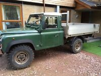 Landrover 110 pickup 300 series