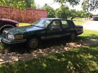 1992 Lincoln Towncar Special Edition