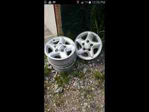 Dodge 5 bolt rims 17""