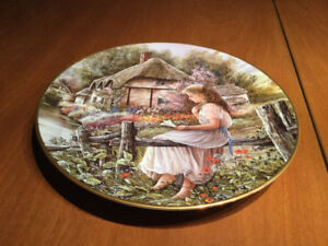 Collector plate love letter by Shirley Deaville