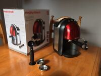 Morphy Richards coffee machine - boxed