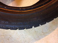 P225/50 R18 studded winter tires