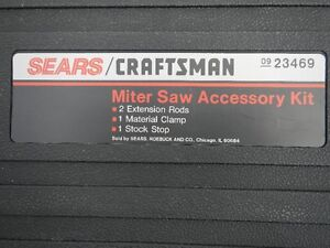 Craftsman mitre saw kit