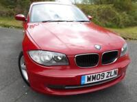 2009 09 BMW 1 SERIES 2.0 118D SPORT 5D 141 BHP ** DIESEL, POUND;30 ROAD TAX ,SU