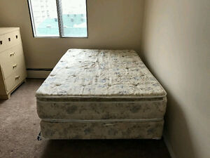 Double Mattress and Boxspring and Frame - Can Deliver