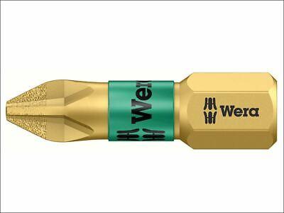 Diamond Insert Bit (Wera - 851/1 BDC Phillips BiTorsion PH2 Insert Bit Diamond Coated 25mm Carded)