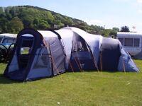Vango diblo 900xp + tent extention