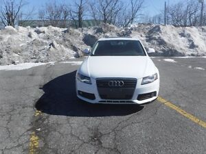 2009 AUDI A4,AWD,WHITE COLOR JUST FOR $10980 PLUS TAX