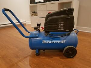 Compresseur d'air Mastercraft, 1,5 HP, 8 gal
