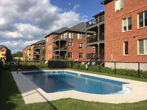 Dix30 Brossard 41/2 for rent 2 bdrms with interior garage, pool
