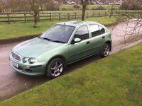Rover 25 cheap with mot 1400cc