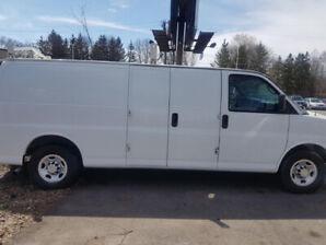 2011 Chevrolet Silverado 2500 EXTENDED CARGO  Van