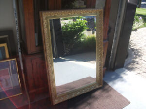 Gold colored mirror for sale
