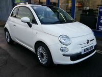 2011 FIAT 500 0.9 TWINAIR 85BHP LOUNGE 60K FULL HISTORY TWO KEYS
