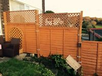 Brand new 6x5 fence (5 panels + posts + holders )