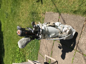 Set of Golf clubs complete in Bag