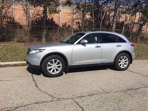 2006 INFINITI FX35 LOW KM IN INCREDIBLY CLEAN CONDITION!!!