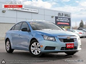2012 Chevrolet Cruze Accident Free, Remote Entry, Fuel Economy a