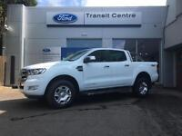 NEW Ford Ranger 3.2TDCi 200PS 4x4 6 Speed Manual Limited White + Sat Nav- Onsite