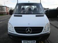 Mercedes-Benz Sprinter 2.1TD 313CDI LWB with 20ft alloy dropside / flatbed (41)