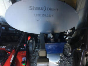 Shaw Satellite Dish For Sale - $40.00