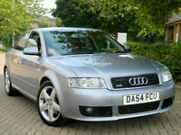 Audi A4 1.9 TDI 130 2005MY quattro Sport WITH FSH+FULL LEATHER+CAMBELT DONE+