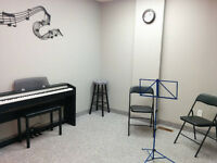 Music Lesson Room For Rent