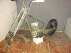 50's Harley S model Hummer project